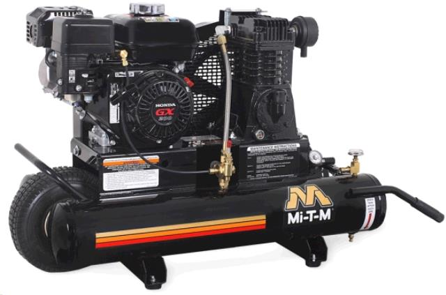 Where to rent COMPRESSOR, 9 hp. Mi T M in Ft. Collins, Wellington, Greeley, LaPorte, Loveland, Windsor CO and all of Northern Colorado.