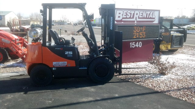 Where to find FORKLIFT, DOOSAN 5000LB in Ft. Collins