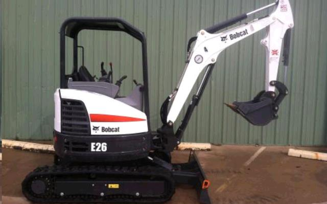 Where to find BACKHOE, MINI EX, BOBCAT E26 in Ft. Collins