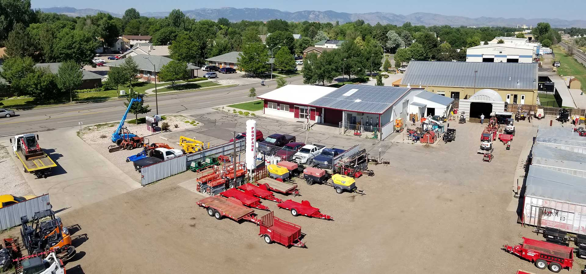 Equipment Rentals in the Fort Collins area